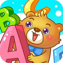 儿童游戏学认英语字母
