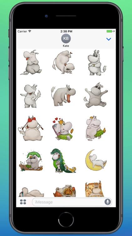 Cute Mumintroll Stickers