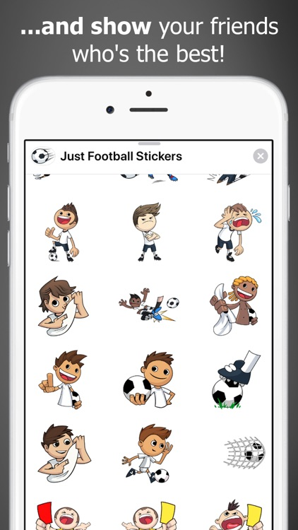 Just Football Stickers screenshot-3