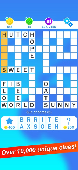 Crossword worlds biggest on the app store crossword worlds biggest on the app store malvernweather Gallery