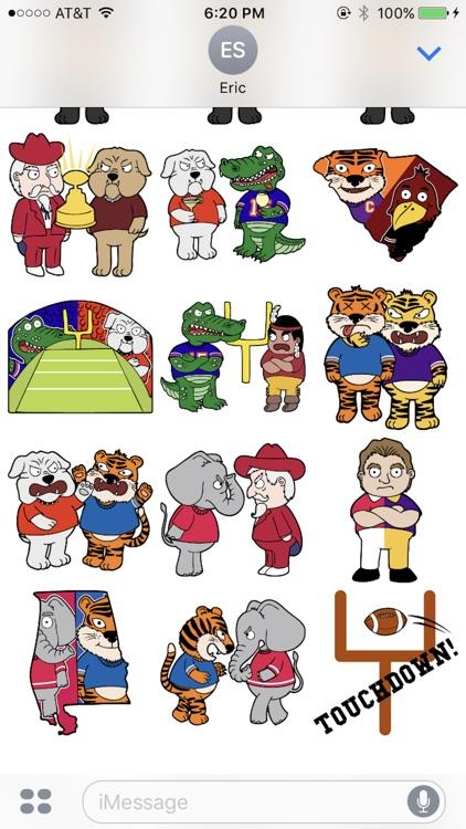 Rivalry Stickers: Football screenshot-3