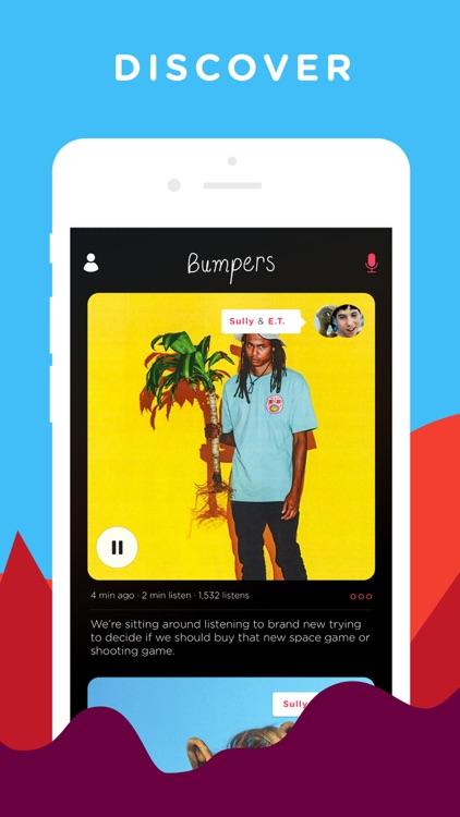 Bumpers - Record, Edit, Listen screenshot-4