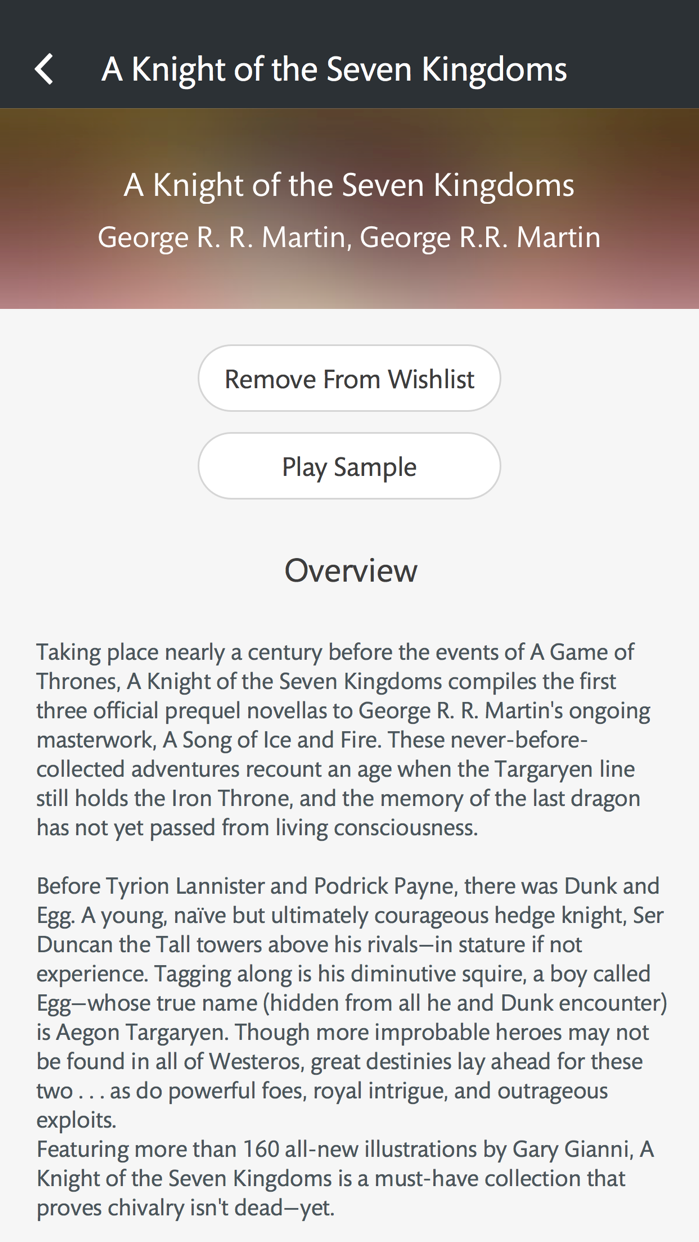 NOOK Audiobooks Screenshot