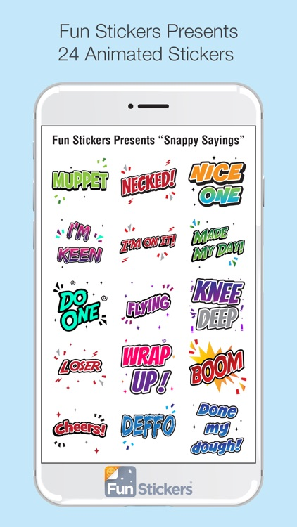 Snappy Sayings iSticker
