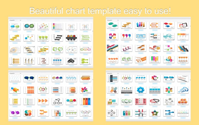 Factory-(3000+)Chart templates for PowerPoint