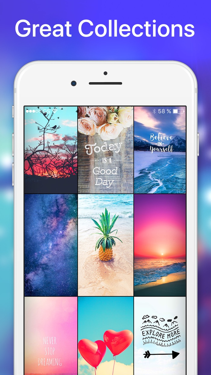 Wallpapers & Backgrounds X Screenshot