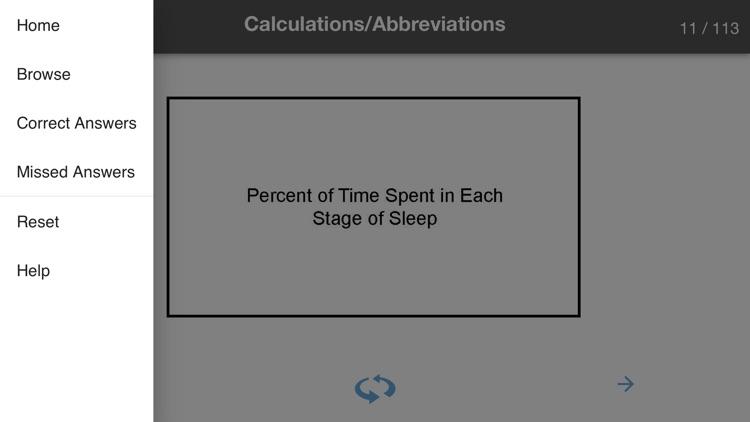 Sleep Technology Flash Cards screenshot-3