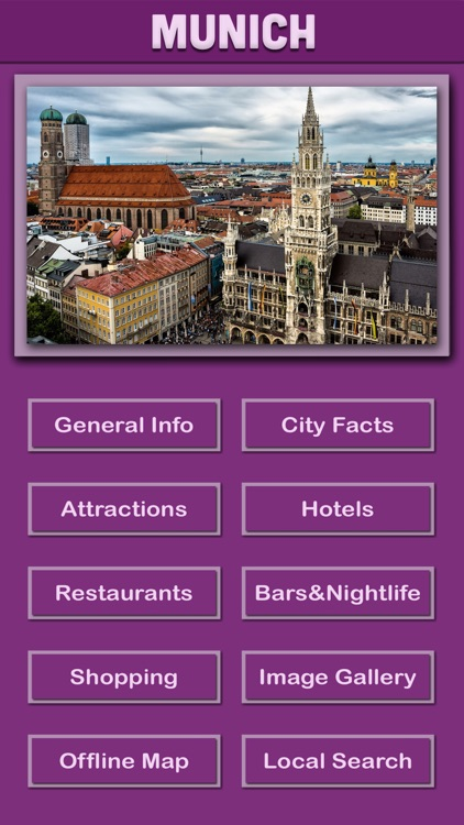 Munich Offline Tourism screenshot-1