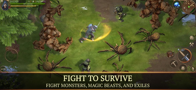 I Survived Monster In Lower Stacks Of >> Stormfall Saga Of Survival On The App Store