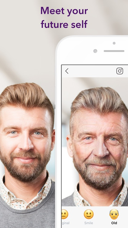 FaceApp: Neural Face Magic