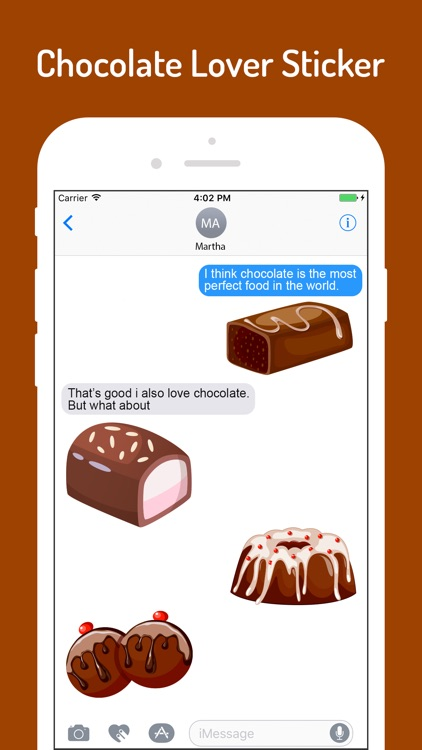 Chocolate Lover Stickers screenshot-3