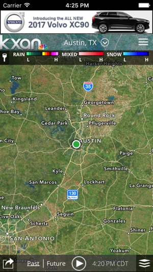 Austin Weather Map Radar.Kxan Weather On The App Store