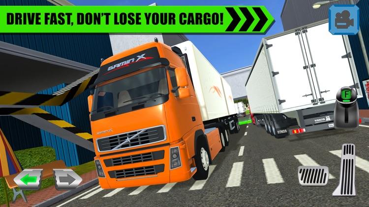 Truck Driver: Depot Parking screenshot-3