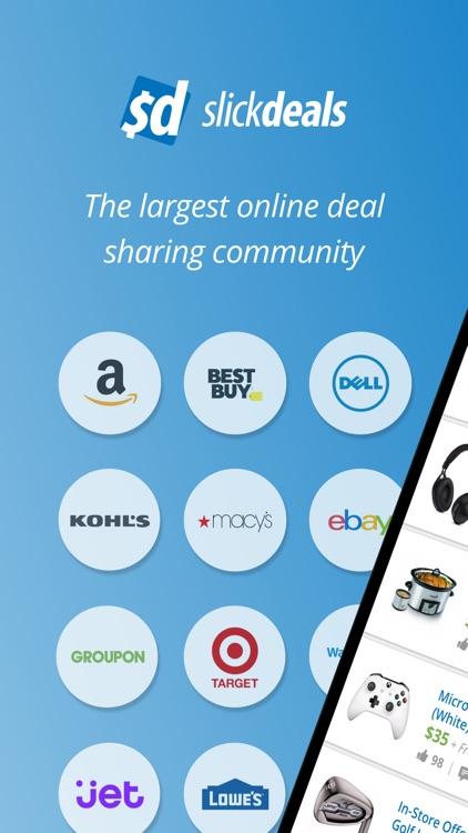 Slickdeals: Coupons & Shopping screenshot-0