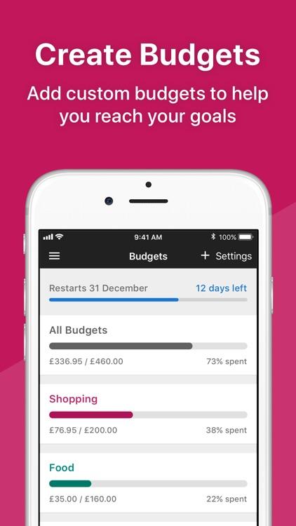 Money Dashboard Budget Planner