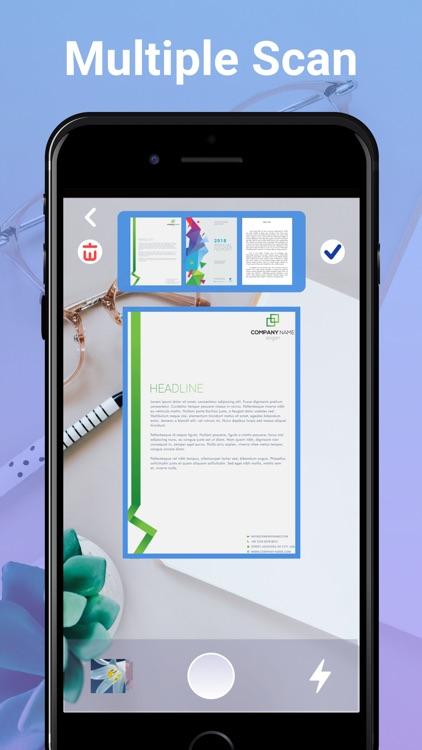 Doc Scanner - PDF Scan Camera screenshot-4