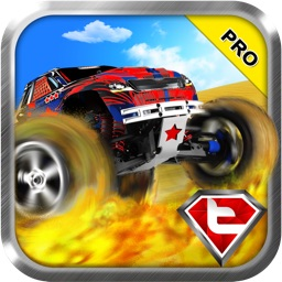 A Grand Nitro Monster Truck Real Race Pro