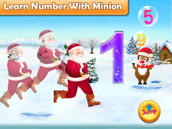Santa Run - Learning FlashCard screenshot 9