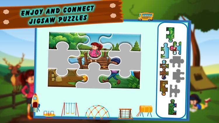 Preschool Magical Kids Puzzle screenshot-3