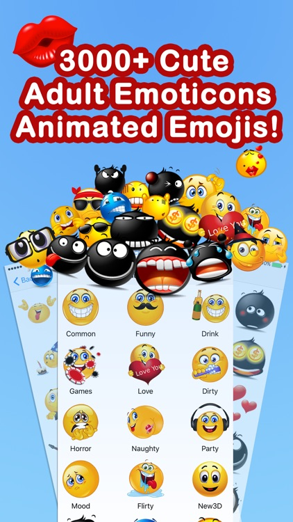 Adult Emoji Animated Emojis screenshot-0