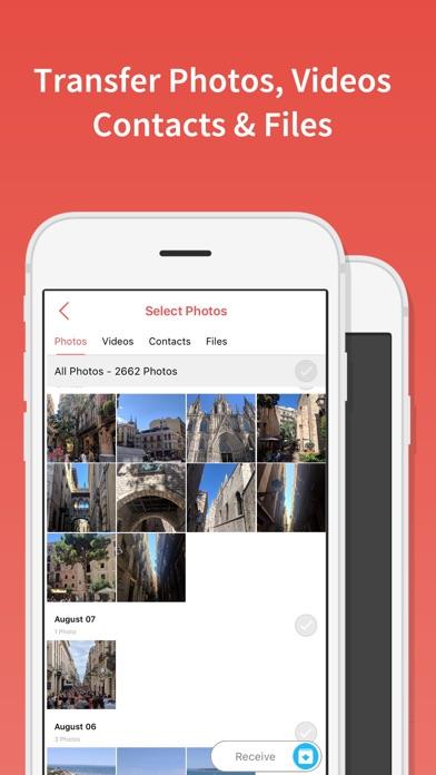 FotoSwipe: ファイル転送、写真、ビデオ共有のスクリーンショット2
