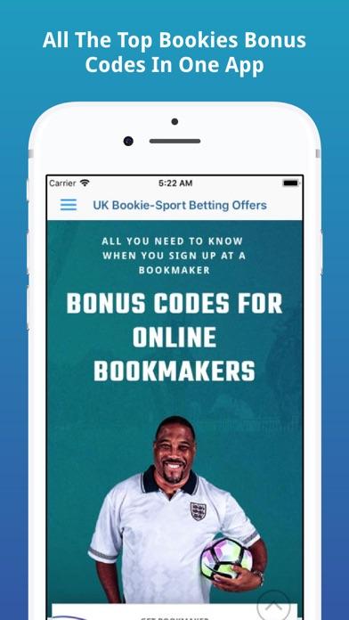 UK Bookie-Sport Betting Offers screenshot one