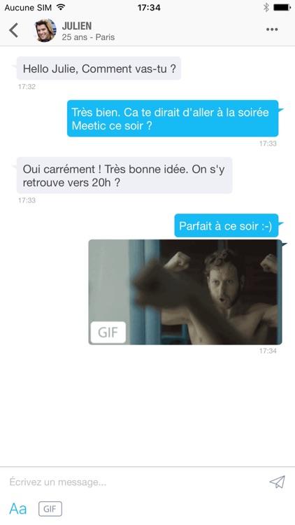 Meetic - Rencontre célibataires