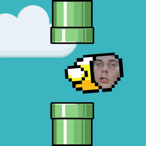 Flappy Friend - Flap Yourself - Become the Bird take a photo of your face !