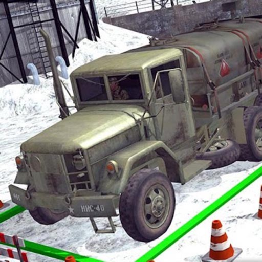 Army War Truck Driving iOS App