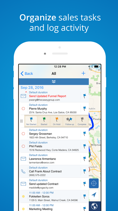 Mapview Sales Route Planner review screenshots