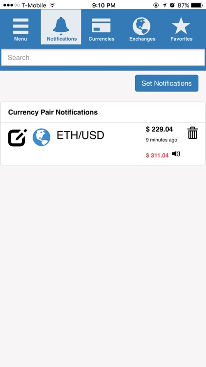 CrypDates - Unified cryptocurrency notifier
