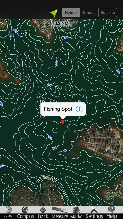 Lake Norman GPS Nautical Chart screenshot-3