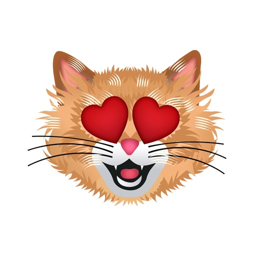 CatMoji - Cat Emoji Stickers app logo