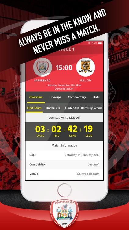 Barnsley FC Fan App screenshot-4