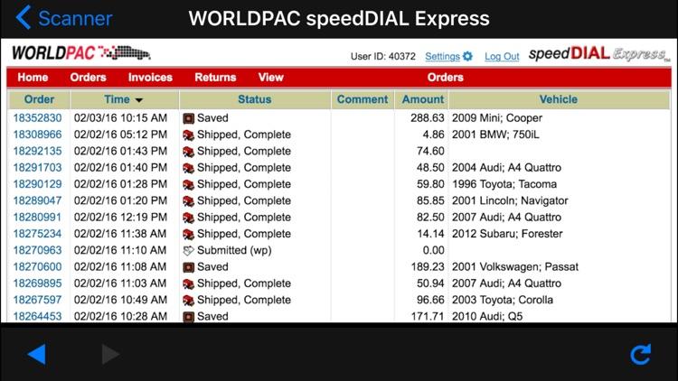 WORLDPAC screenshot-3
