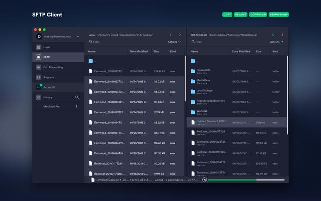 Termius - SSH client on the Mac App Store