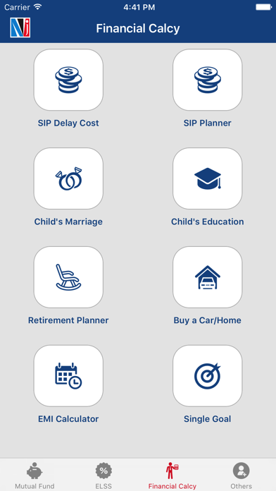 NJ Financial Tools screenshot one