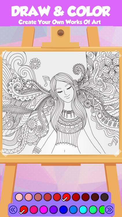 Coloring Book King By LOKE KAM FOOK