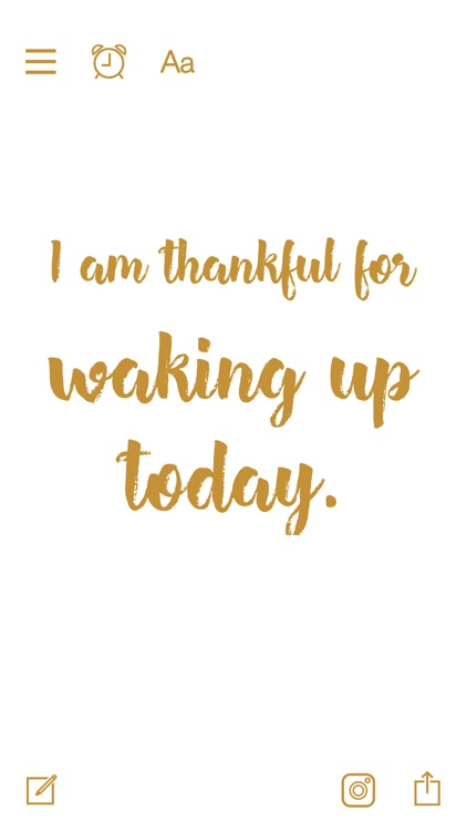 Thankful for - Gratitude Diary