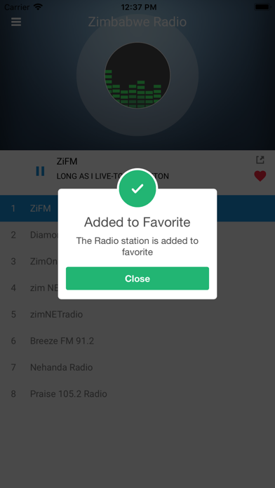 Zimbabwe Radio Station FM Live screenshot three