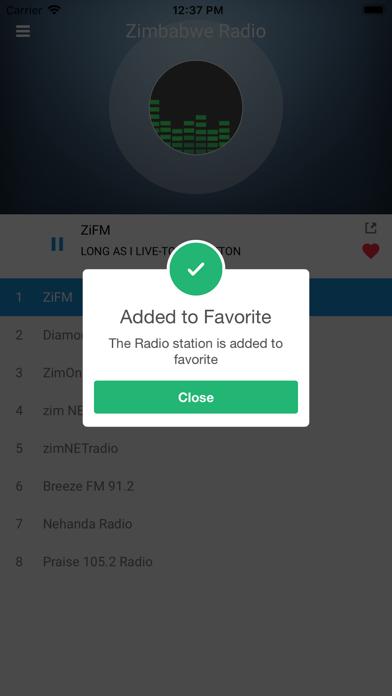 Zimbabwe Radio Station FM Live screenshot three