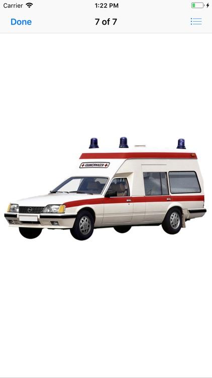 Ambulance Stickers screenshot-7