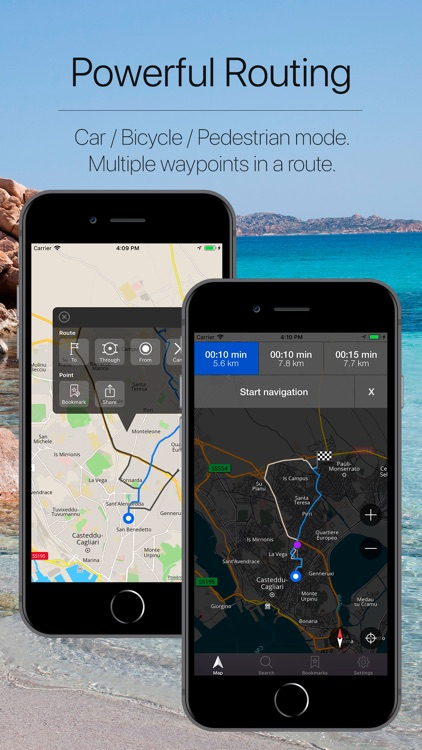 Sardinia, Italy Navigation screenshot-2