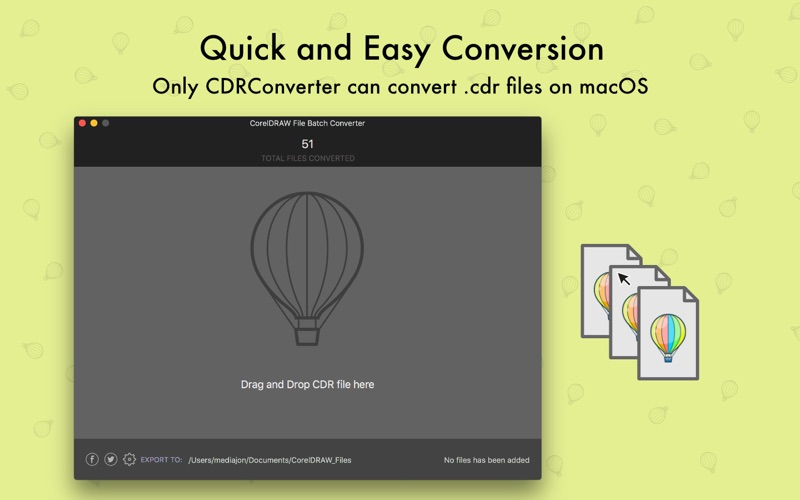 CDRConverter Screenshot - 2