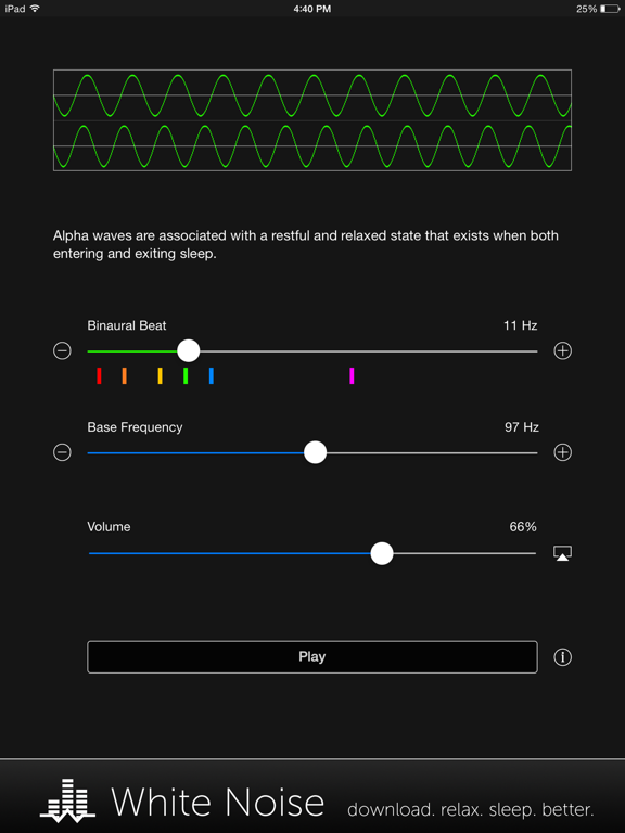 Binaural Beats Generator + screenshot 7