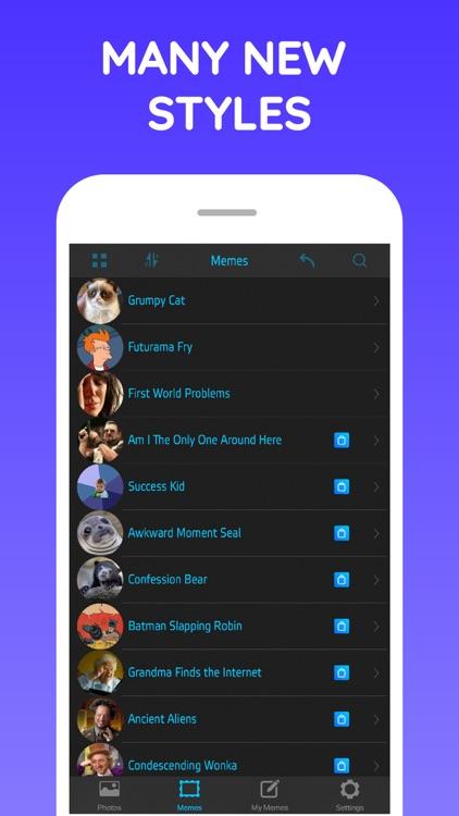 Memo 365 Meme Maker & Creator screenshot-3