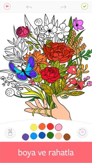 Colorfy Boyama Kitabı App Storeda