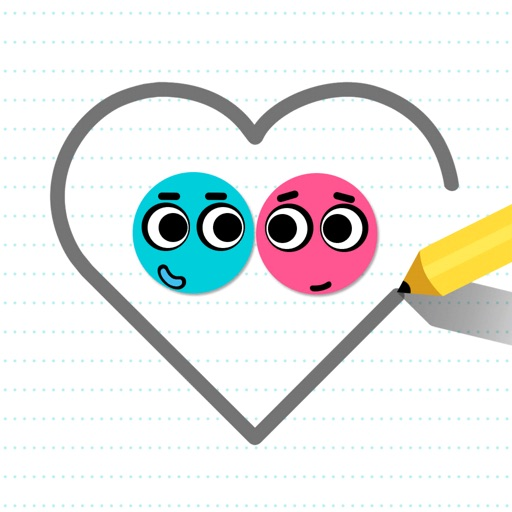 Download Love Balls free for iPhone, iPod and iPad