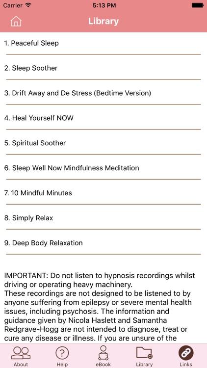 Peaceful Sleep Hypnosis Full Version