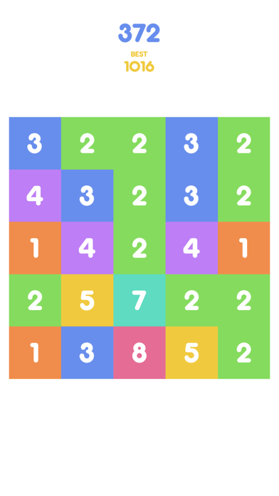 Number Tap - Merge Blocks screenshot four